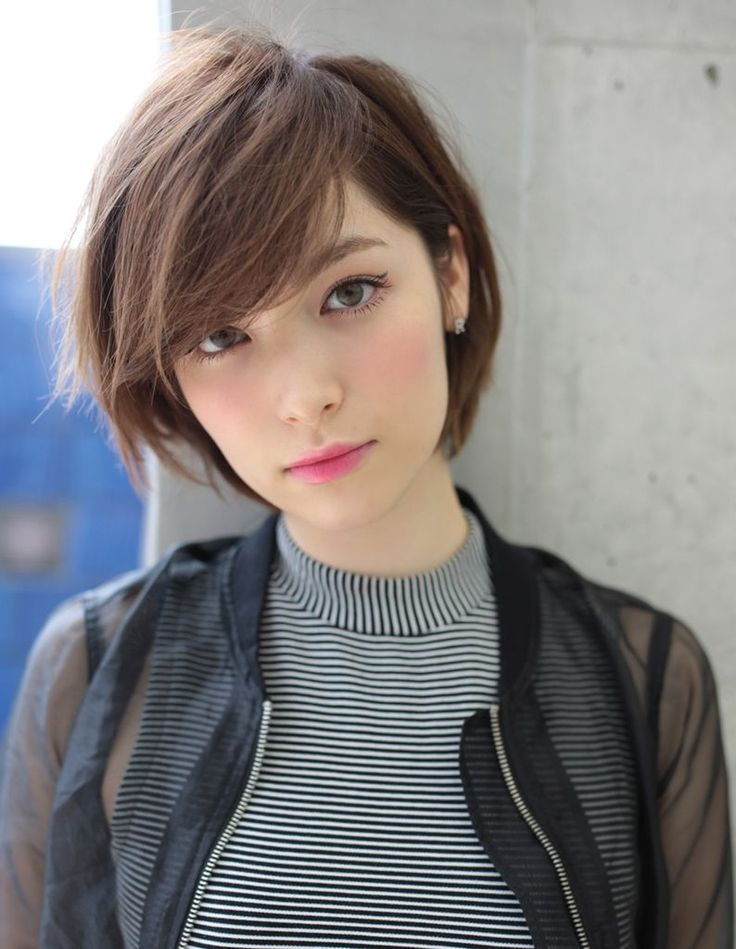Asian Short Hairstyles Women 2018 10 - Haircuts + Hairstyles 2018