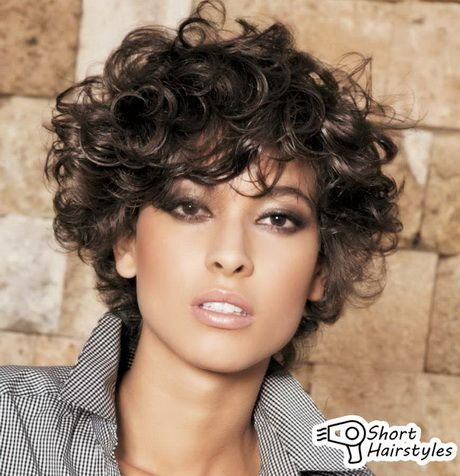 Curly Hairstyles For Short Hair 1