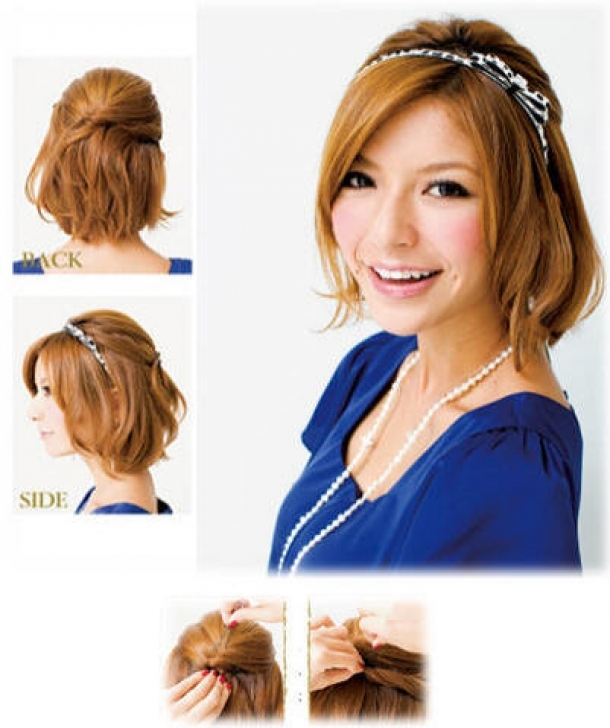 Easy Hairstyles For Short Hair Page 2 Of 5 Hairstyles