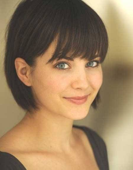 Short Hair Styles With Bangs Best 25 Short Hair With Bangs Ideas On Pinterest  Bob With .