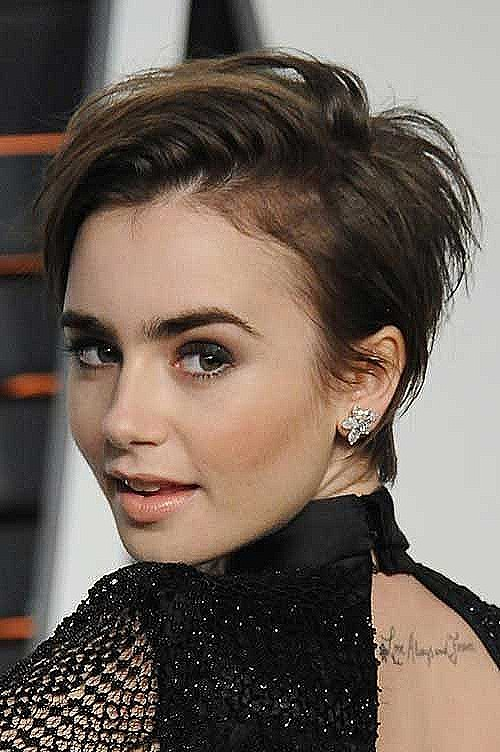 Famous Stars With Short Hair - Best Short Hair Styles