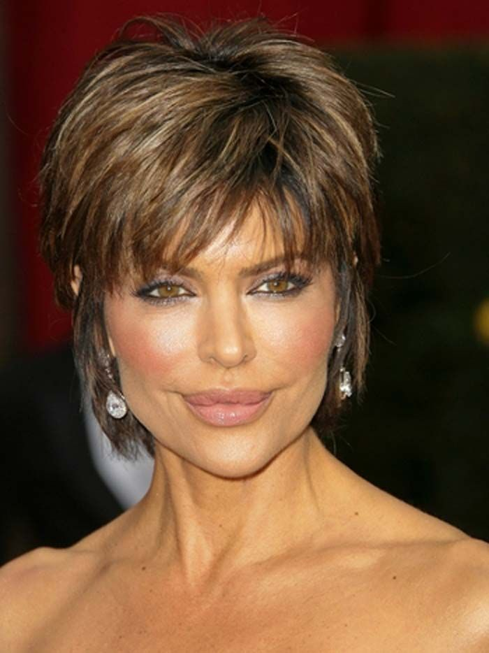 Short Hairstyles For Older Women Haircuts Hairstyles 2018