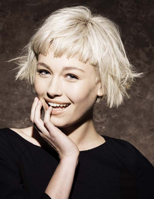 50 Hottest Bob Haircuts & Hairstyles for 2020 - Bob Hair ... |Ladies Short Hairstyles With Bangs