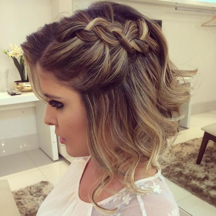 Best 25 Short Formal Hairstyles Ideas On Pinterest For Hair Wedding Hairstyle And Styles