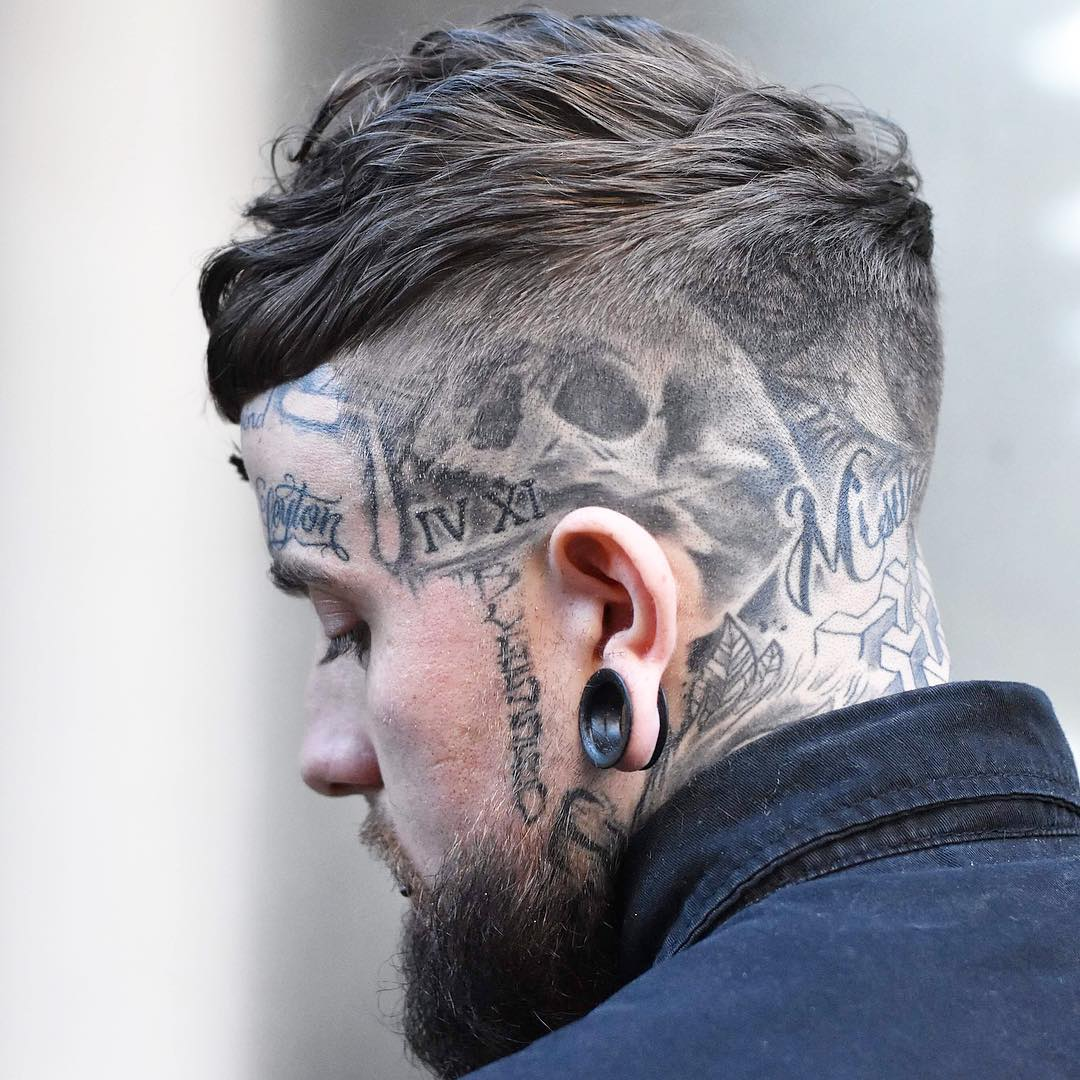2018 Best Short Haircut For Men With Tattoo Hairstyles Fashion And