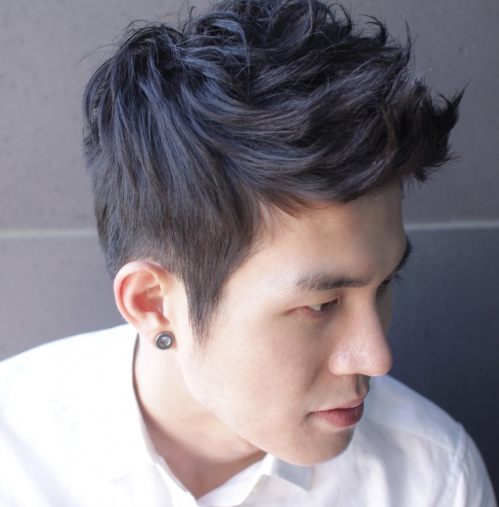 Opinion, asian hair style men think