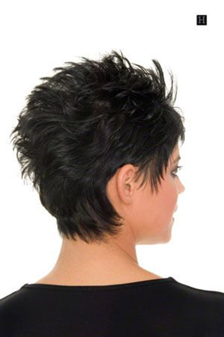 Back View Short Haircuts 15
