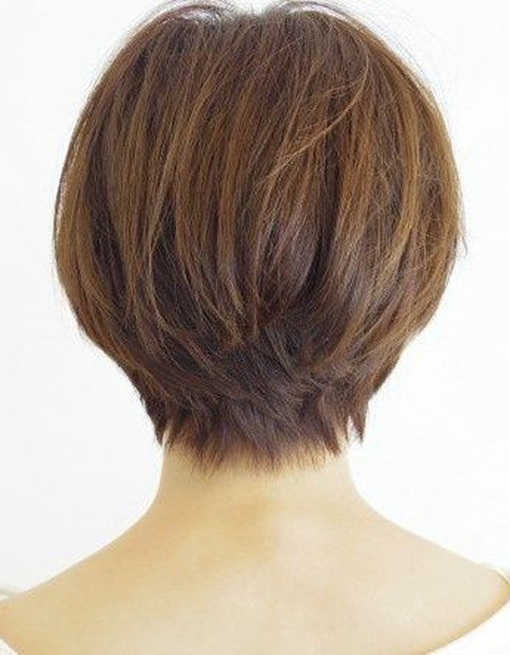 Back View Short Haircuts 17