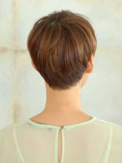 Back View Short Haircuts 2