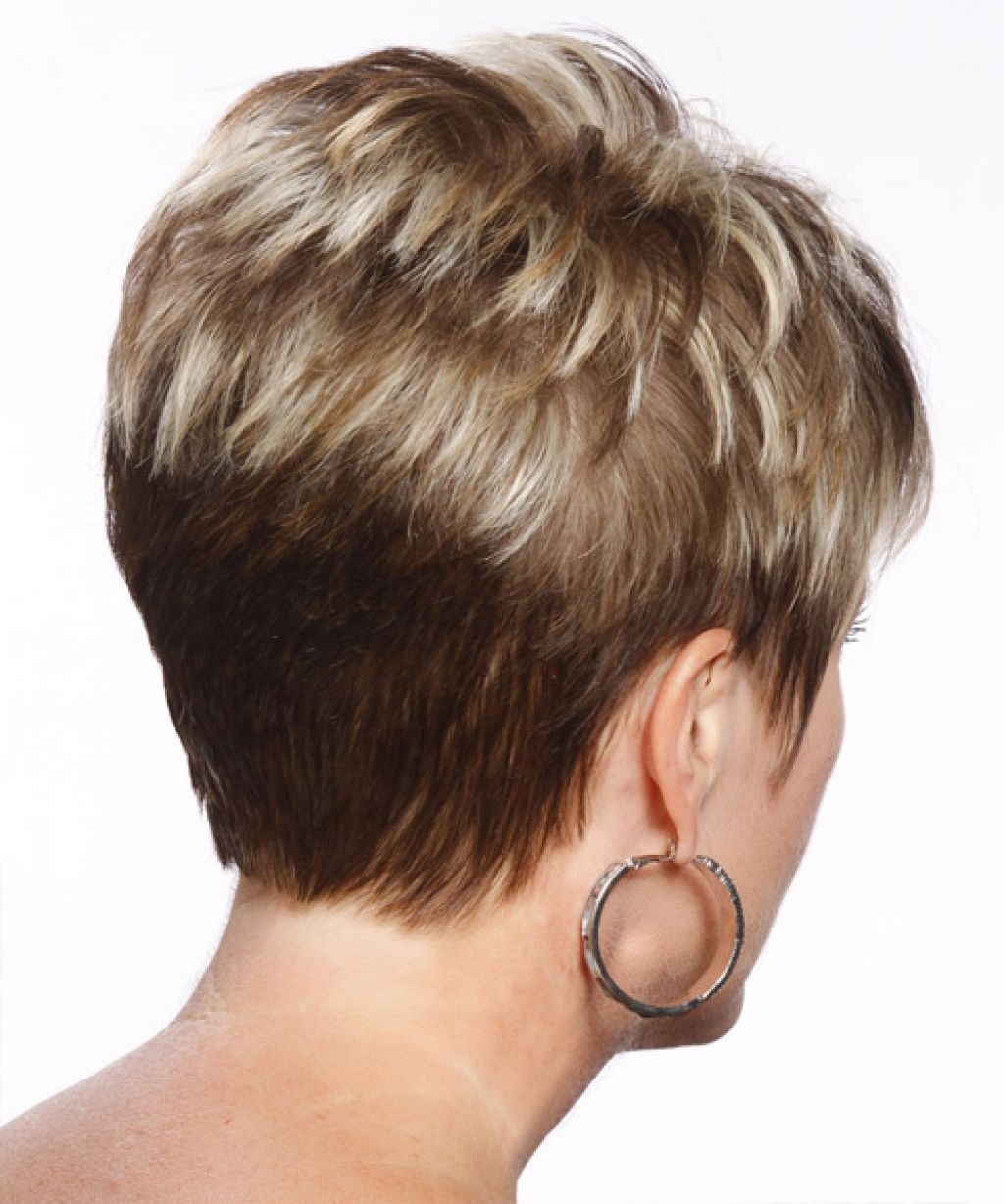 Back View Short Haircuts 3