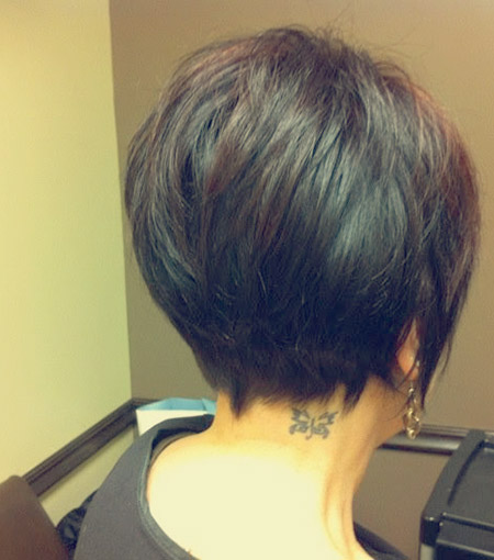Back View Short Haircuts 7
