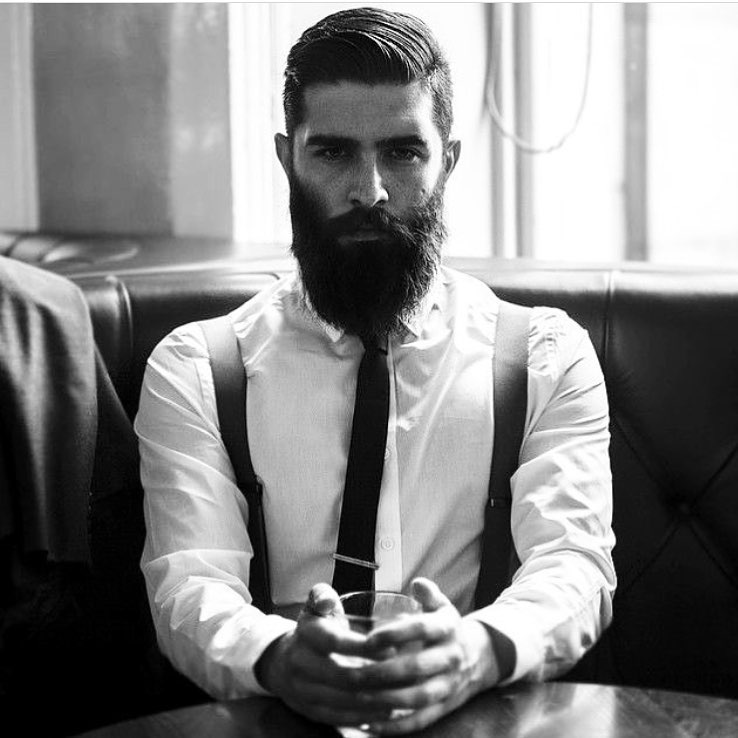 Beard With Popular Hair For Men