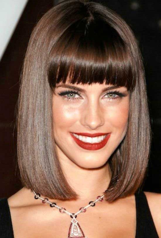 Bob Hairstyles With Bangs 2018 23