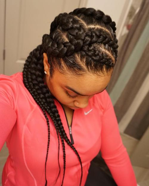 Braid Hairstyles For Black Women 14