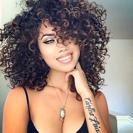 Curly Hairstyles 2018 7