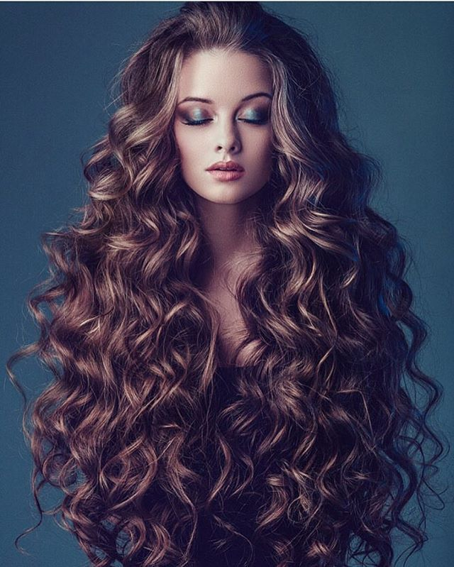 Curly Hairstyles For Long Hair 1