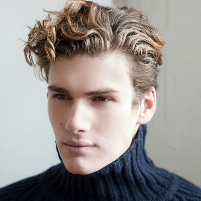 Curly Hairstyles For Men 2018 5