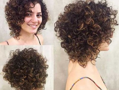 Curly Hairstyles For Short Hair 4