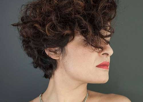 Curly Hairstyles For Short Hair 9