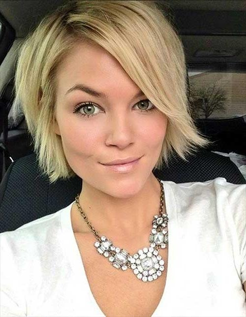 Best Short Haircuts For Straight Fine Hair | Short Hairstyles 2016 Inside Cute Short Haircuts For Fine Hair