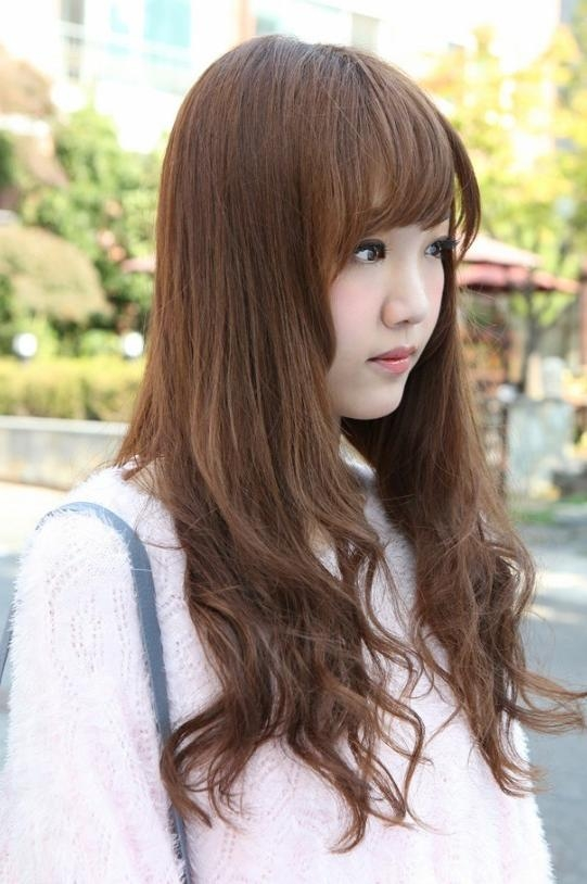 Side View Of Korean Hairstyles 2013 Hairstyles Weekly With Cute Korean Hairstyles For Girls With Long Hair