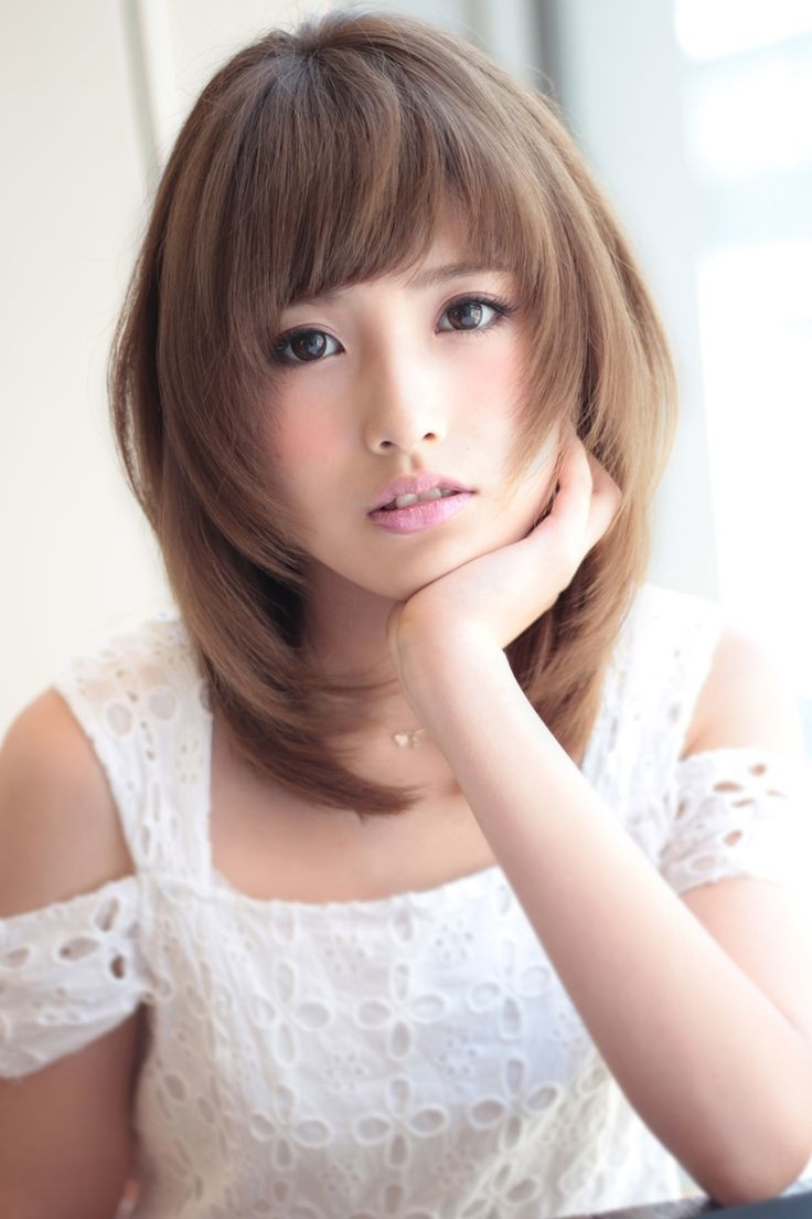 Latest Korean Hair Cut For Women Korean Short Hair Cuts For Women Teens Hairstyle Picture Magz ...