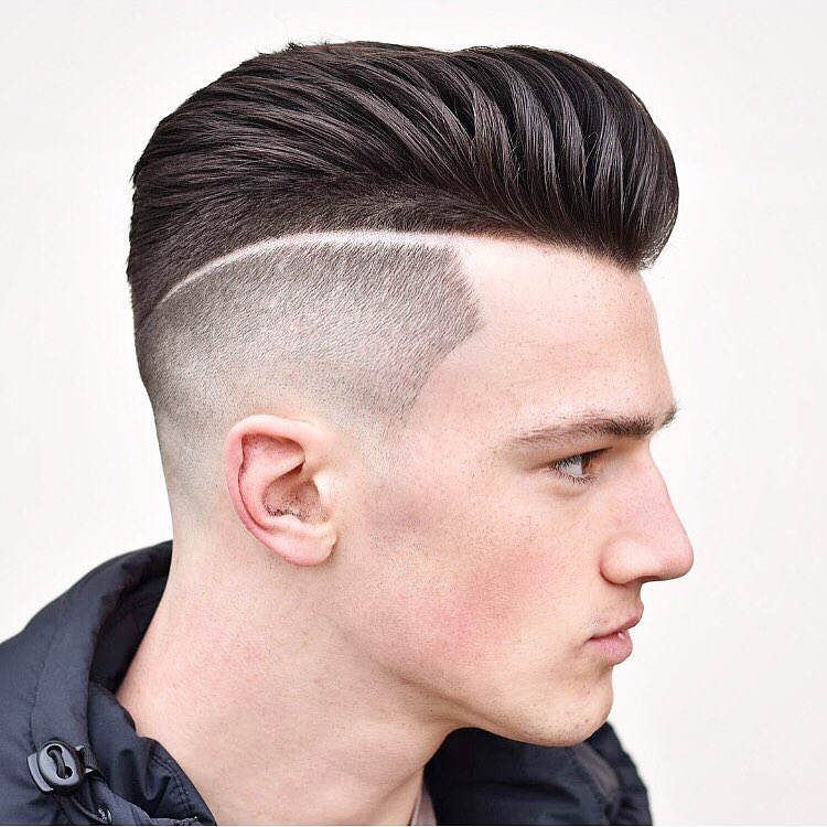 Sharp Fade Short Hairstyle For Men 2018 Haircuts