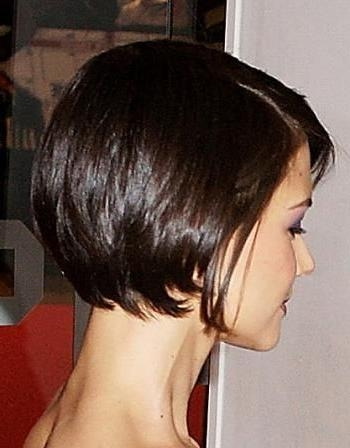 Short Bobs, Katie Holmes And Pixies For Current Katie Holmes Short Bob Hairstyles