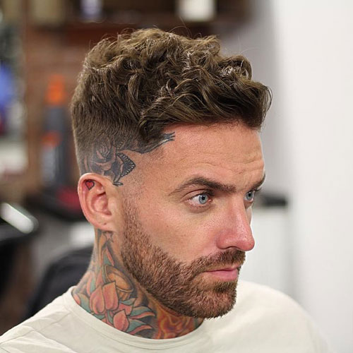 Short Curly Hairstyles For Men 2018 26