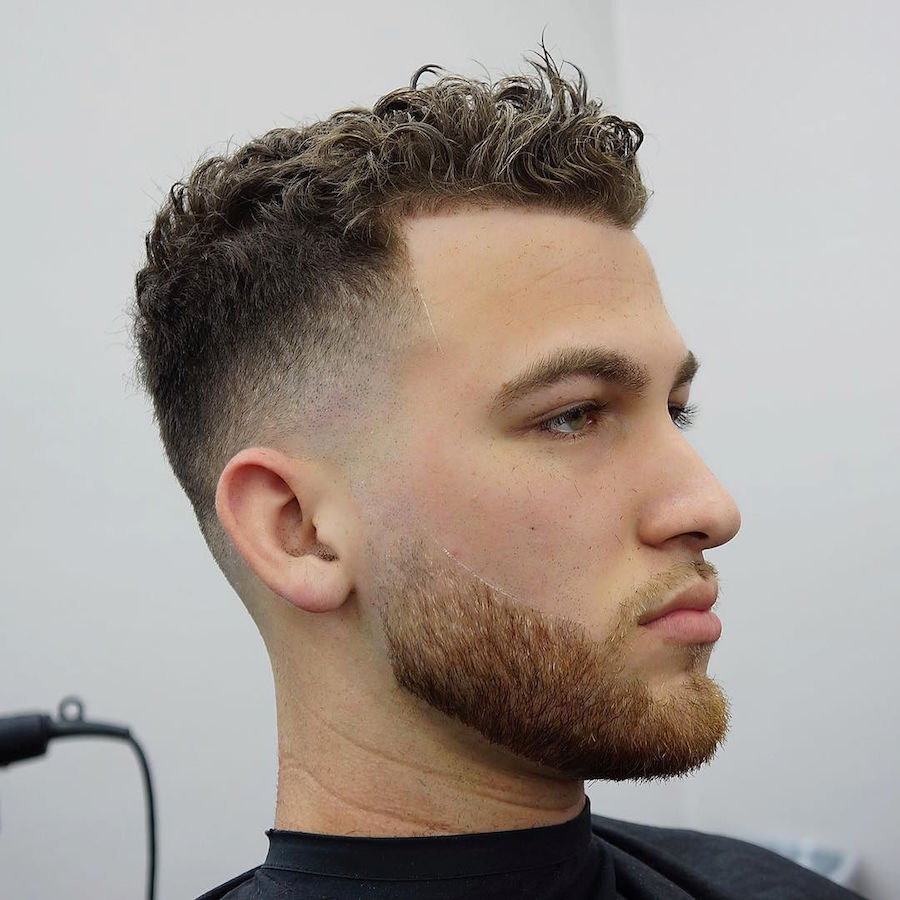 Short Curly Hairstyles For Men 2018 8