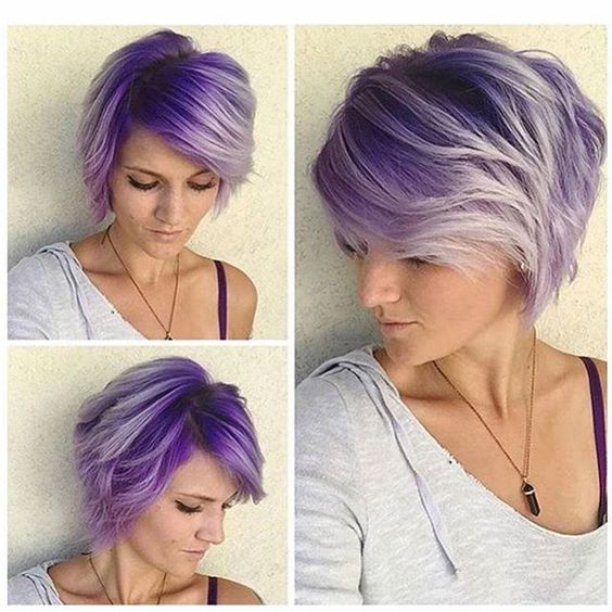 Best Short Hair Color Ideas Hairstyles Fashion And Clothing