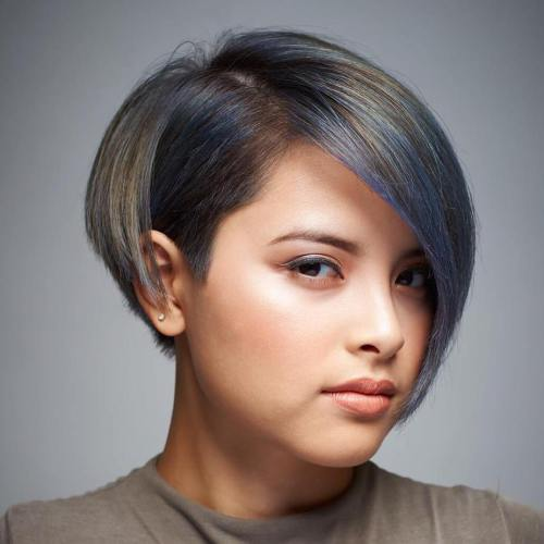 Short Hair For Round Faces 1