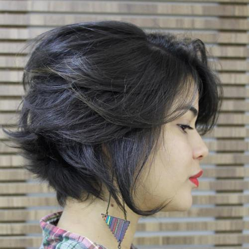 Short Hair For Round Faces 7
