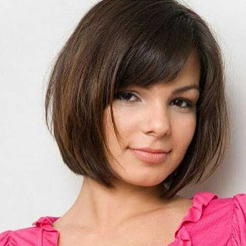 Short Hair For Round Faces 8