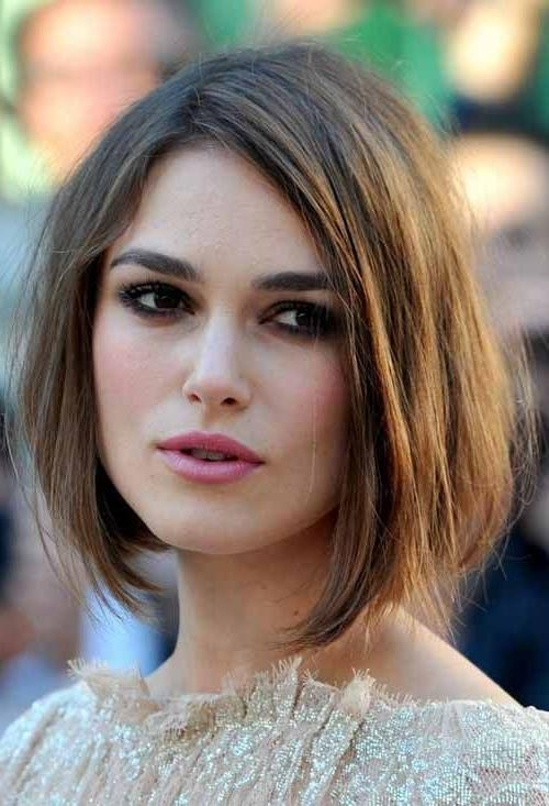 Best 25+ Short Hair Oval Face Ideas On Pinterest   Cabello Corto Throughout Short Haircut Oval Face