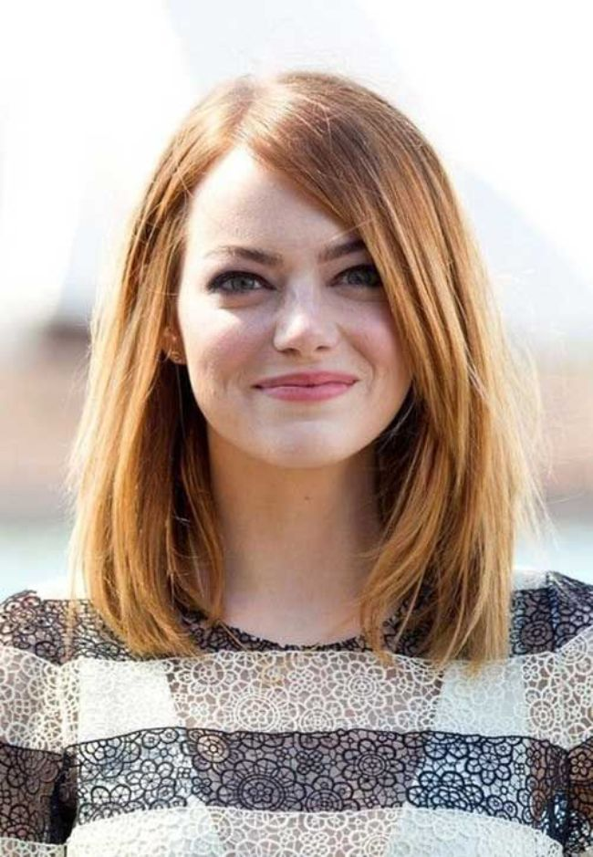 Short Haircuts For Oval Faces 23