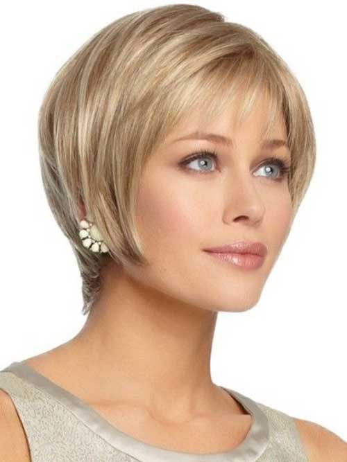 Short Haircuts For Oval Faces 24