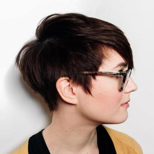 Short Haircuts For Round Faces 1