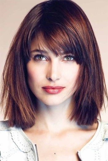Short Haircuts For Round Faces 17