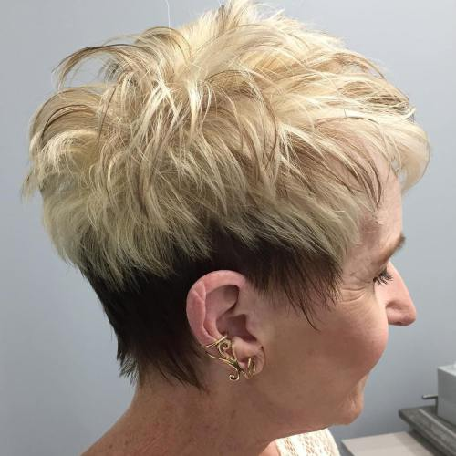 Short Haircuts For Older Women 2018 10