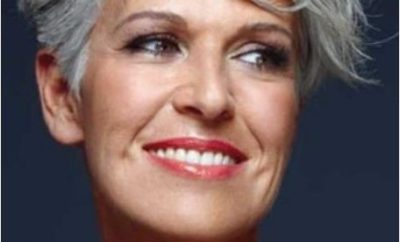 Short Haircuts For Older Women 26