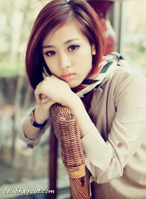 Short Hairstyle For Asian Girl 25
