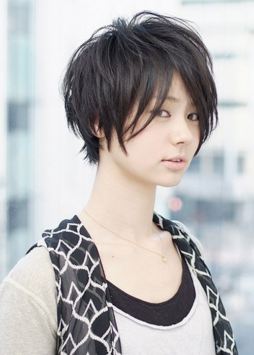 Short Hairstyle For Asian Girl 3