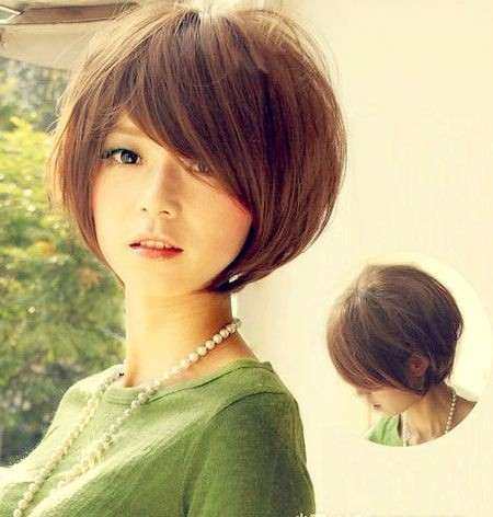 Short Hairstyle For Asian Girl 5