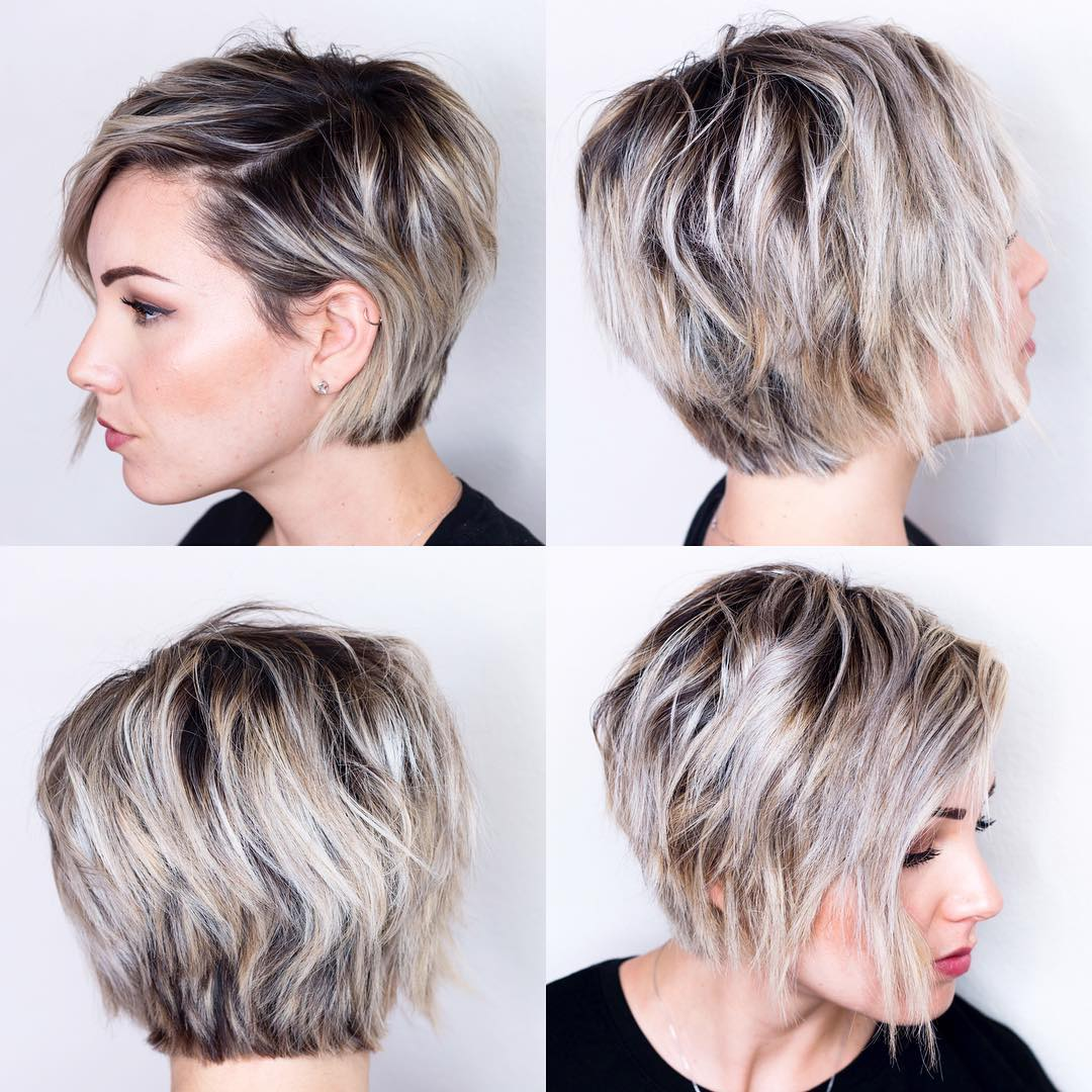 Short Hairstyles For Oval Faces 2018 10