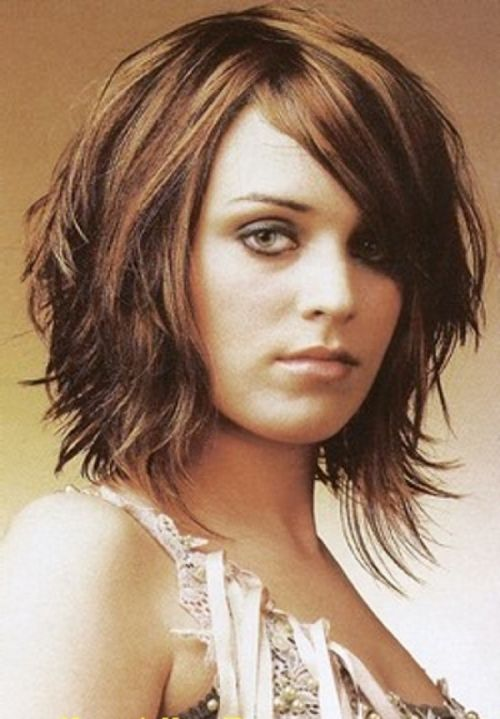 Short Hairstyles For Oval Faces 2018 18