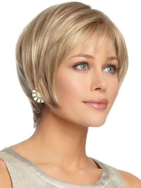 Short Hairstyles For Oval Faces 2018 4