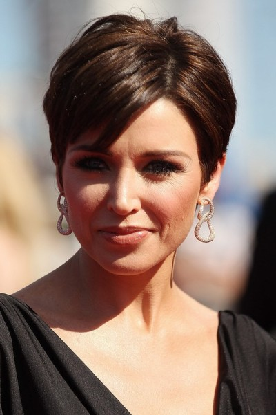 Short Hairstyles For Round Faces 2018 33