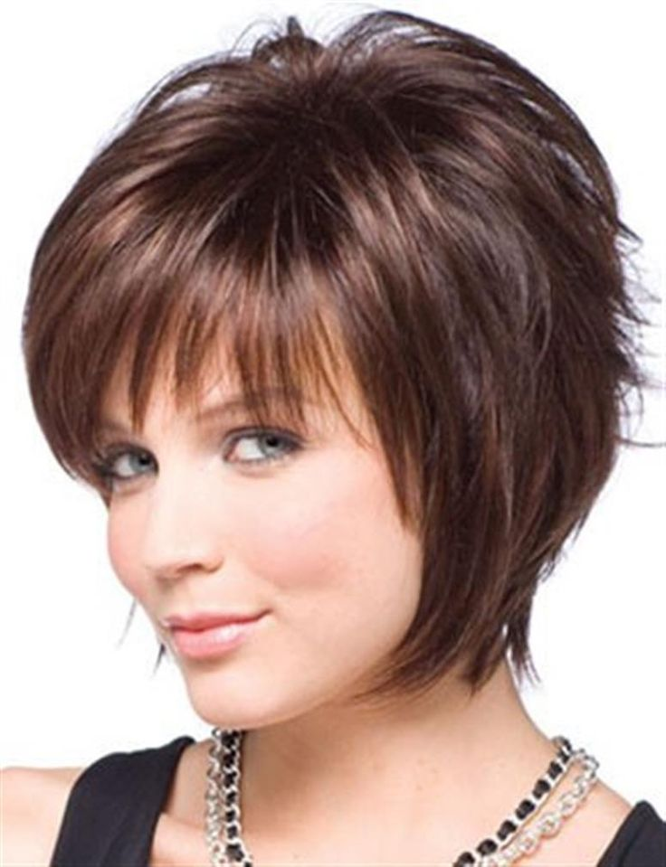 Short Hairstyles For Round Faces 2018 6 Hairstyles Fashion