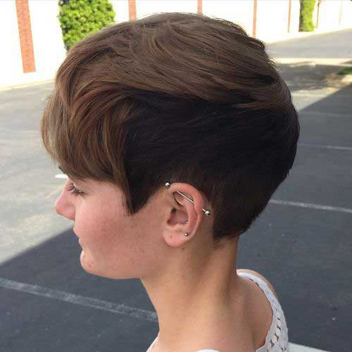 Short Hairstyles For Thick Hair 2018 21